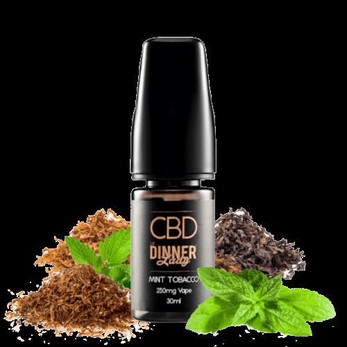 E-liquid Mint Tobacco 250-500-1000mg CBD