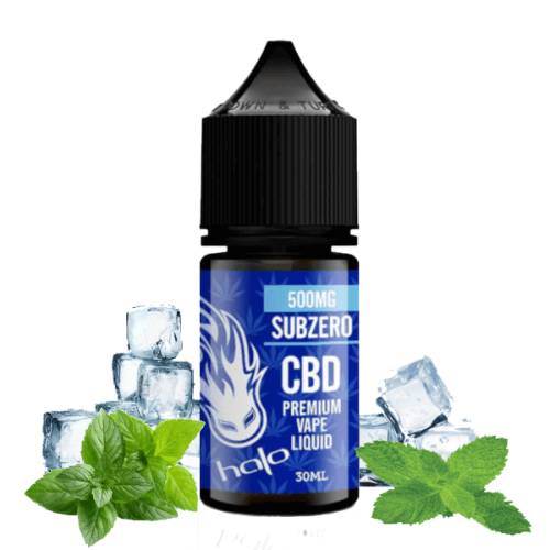 E-liquid SubZero 500-1000mg CBD