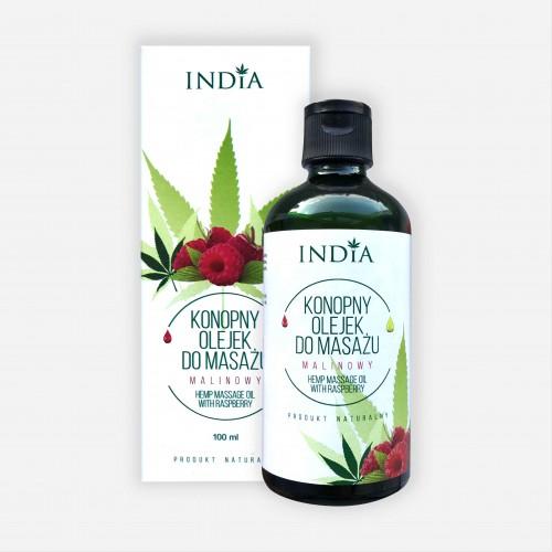 Aceite para masajes de frambuesa