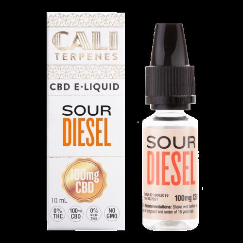 E-liquid Sour Diesel 100mg CBD